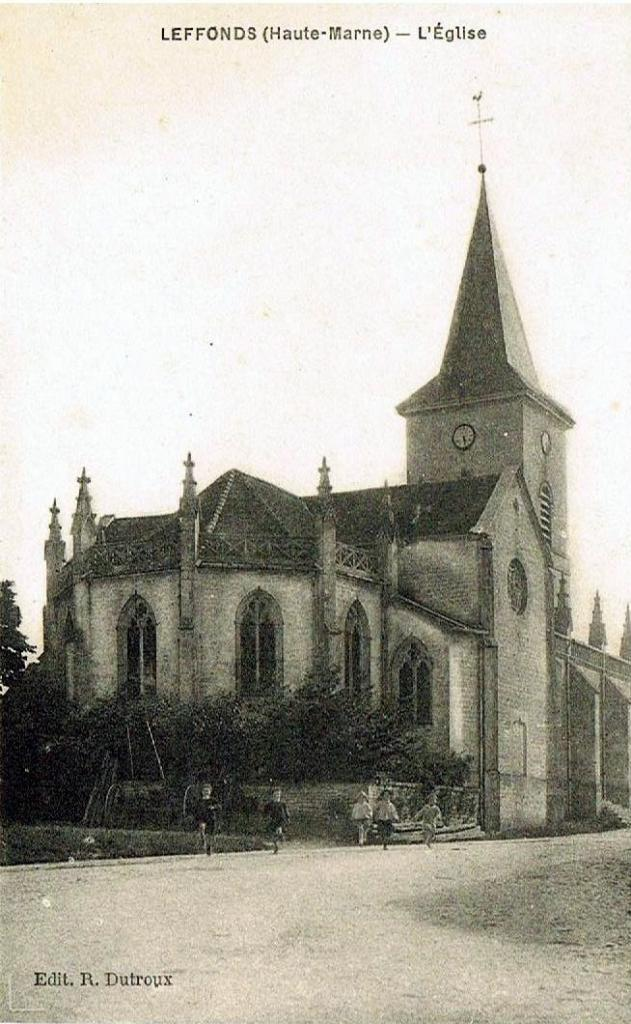 L'église de Leffonds