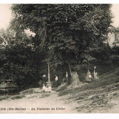 La fontaine au chêne