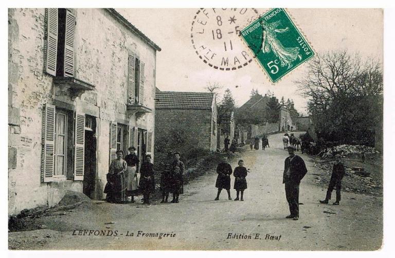 La fromagerie en 1911