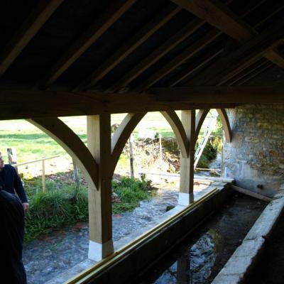 Rénovation du lavoir-avril 2015