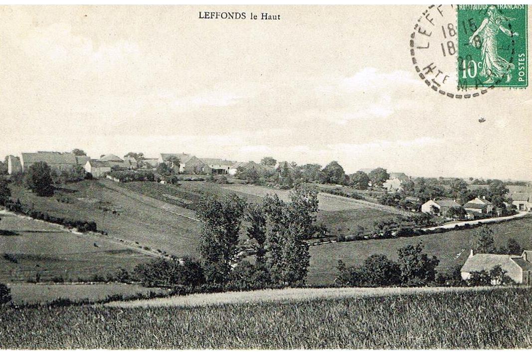 leffonds le Haut en 1922