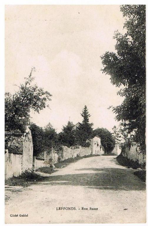 Rue du Pré Noyé