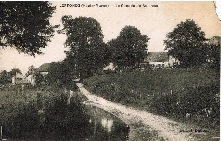 Chemin du ruisseau