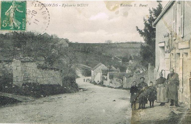 """Rue du Pré Noyé """"Epicerie Boeuf"""""""