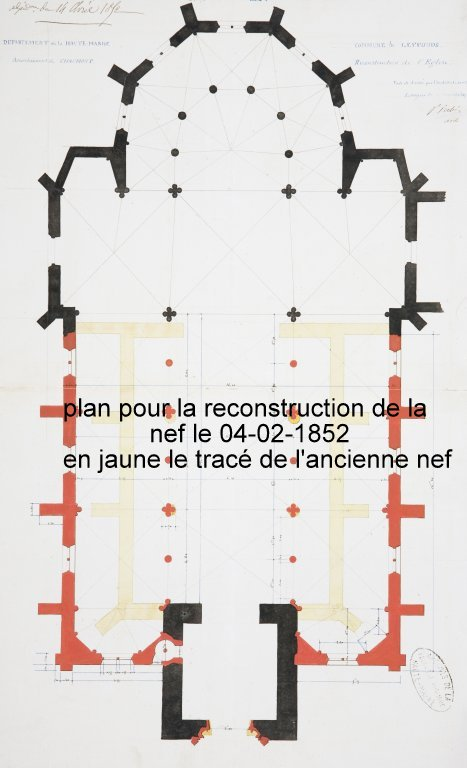 Plan église-1852