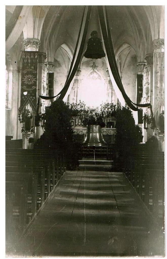 Baptême de la cloche en 1935