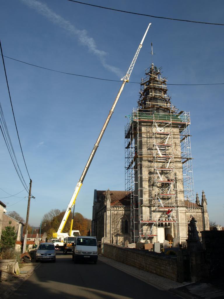 Réfection du clocher