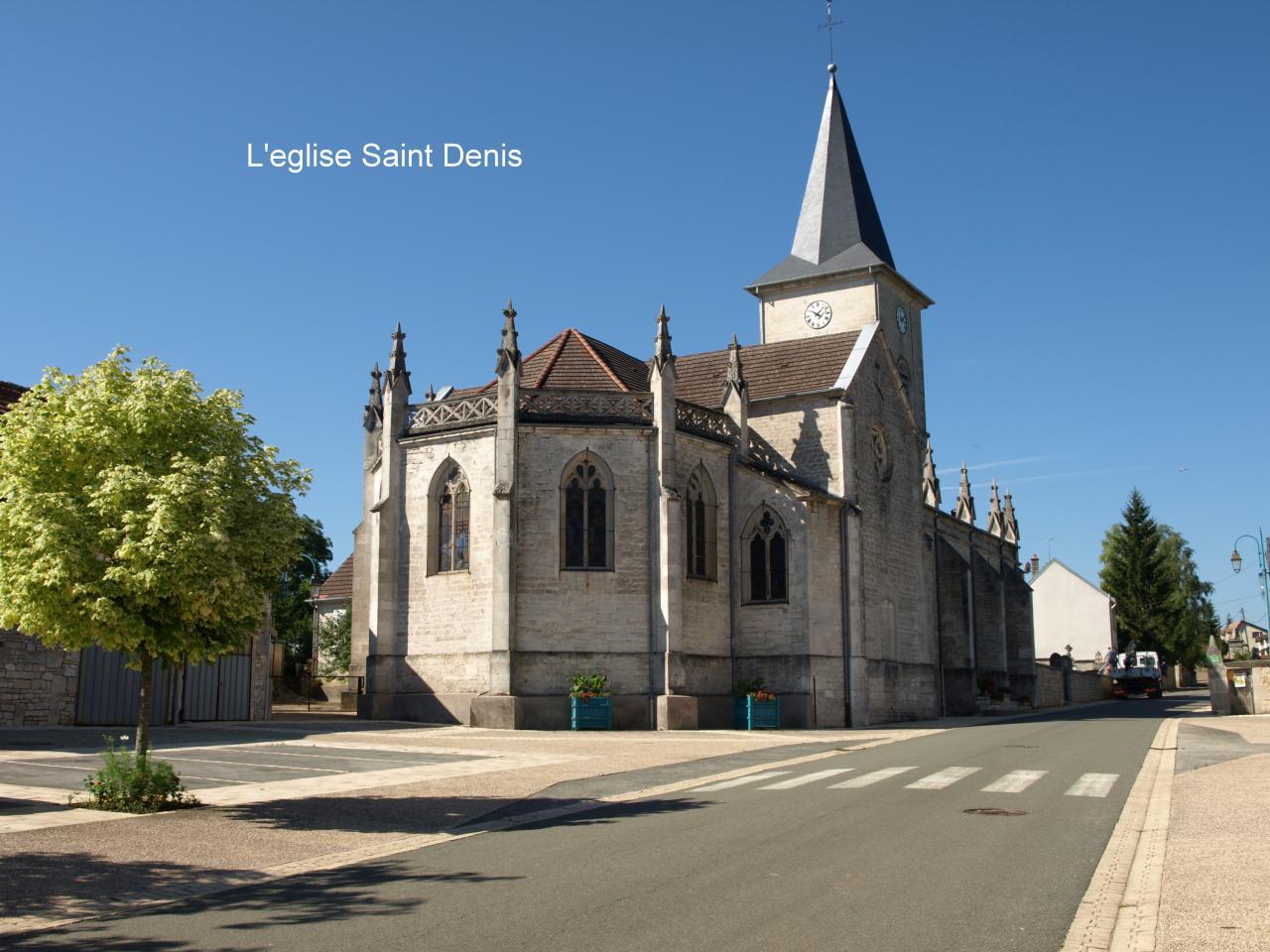 Eglise de leffonds en 2014