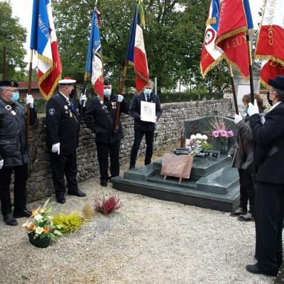 Hommage à Hubert Sermage tué en Corée