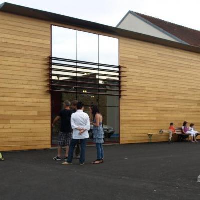 Inauguration de la salle polyvalente