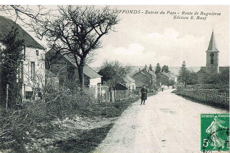 Rue de l'église-route de Bugniéres