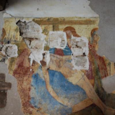 La fresque vandalisée en 2015