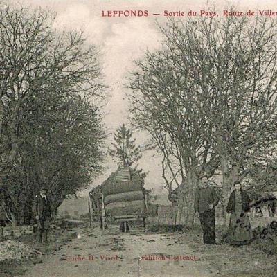 Sortie du village route de Villiers-sur-Suize